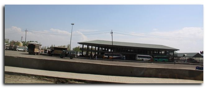 Srinagar Bus stand